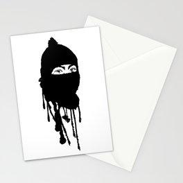 Mask On Stationery Cards