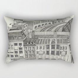 Retiro Train Station 1993 Rectangular Pillow