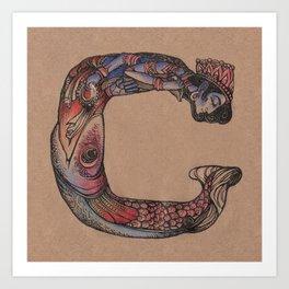 Vishnu C Art Print