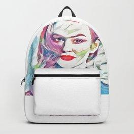 Isla Fisher (Creative Illustration Art) Backpack