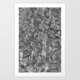 Pen and Ink Detailed Patterning Art Print