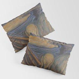 Original The Scream by Edvard Munch Pillow Sham