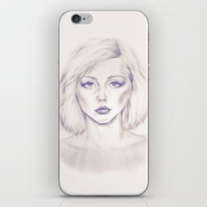 Debbie Harry from Andy Warhol famous picture iPhone & iPod Skin