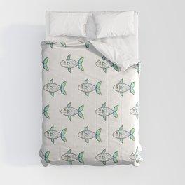 Sky Fish Comforters