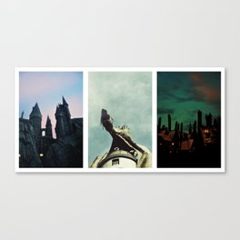 The Wizarding World of Harry Potter Canvas Print