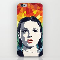 dorothy iPhone & iPod Skins featuring Dorothy by Stephanie Keir