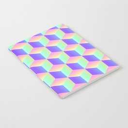 Summer Holographic Notebook