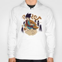 Hoodies featuring woodblockkakarot by Louis Roskosch