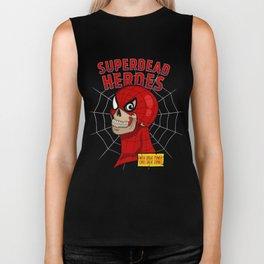 Superdead heroes: spider-dead Biker Tank