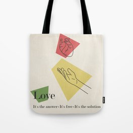 Love: Fifties Tote Bag