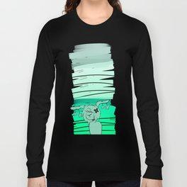 turquoise CG Long Sleeve T-shirt