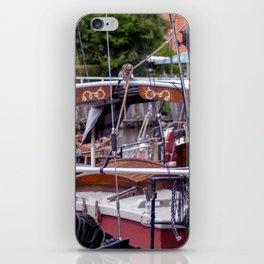 Ship deck iPhone Skin