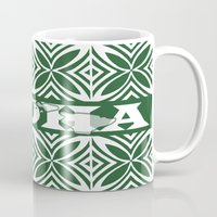 aloha Mugs featuring ALOHA by Lonica Photography & Poly Designs
