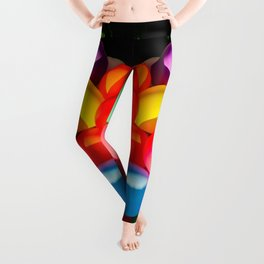 Colorful Toy Balloons Leggings