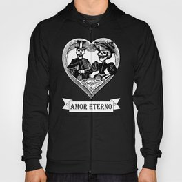 Amor Eterno | Eternal Love | Red and Black Hoody