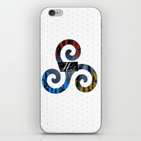 derek hale iPhone & iPod Skins featuring Hale Family by Ana Sánchez