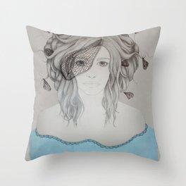Mayfly Throw Pillow