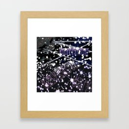 cat in universe part2 Framed Art Print
