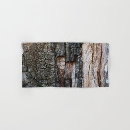 Tree Bark close up Hand & Bath Towel