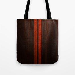 Wooden Striped Oak case Tote Bag