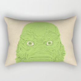 Young Professional from the Black Lagoon Rectangular Pillow
