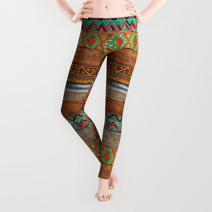 Indian Wood Leggings