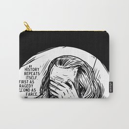 Facepalm Marx Carry-All Pouch