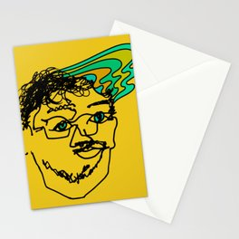 Bef - mustard Stationery Cards
