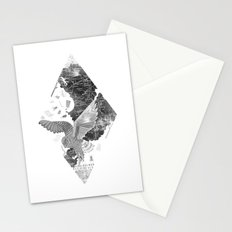 OWL MAP Stationery Cards