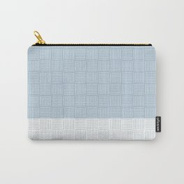 Classic pattern light blue and white - part1 #eclecticart Carry-All Pouch