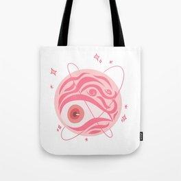 Planet Leash Tote Bag