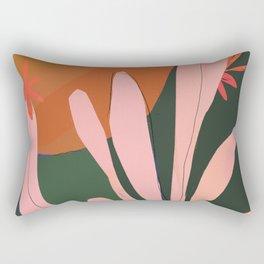 Sunbaked Desert Plant Rectangular Pillow