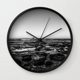 Low Tide Wall Clock