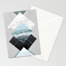 Geometric Textures 14 Stationery Cards