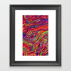 Shaping the Spectrum Framed Art Print