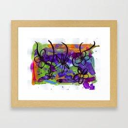 Midnight Garden cycle1 13 Framed Art Print