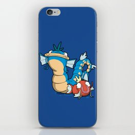 Number 129 and 130 iPhone Skin