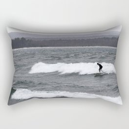 northern surf Rectangular Pillow