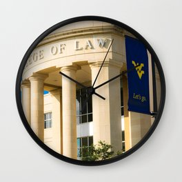 WVU College of Law Wall Clock