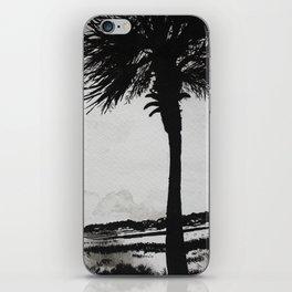 Palm Tree on the Marsh iPhone Skin