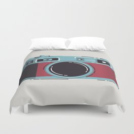 Little Yashica Camera Duvet Cover
