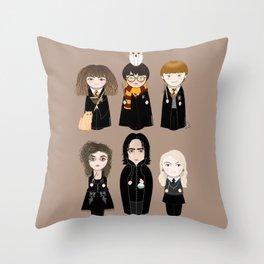 Kokeshis HP Throw Pillow