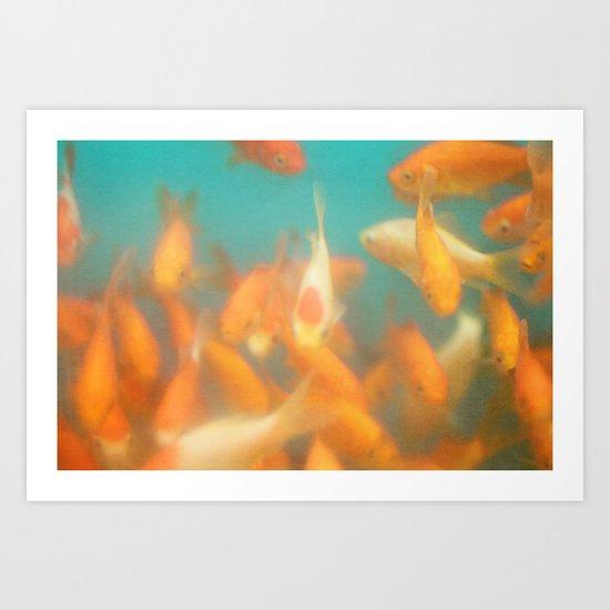 a fish life Art Print
