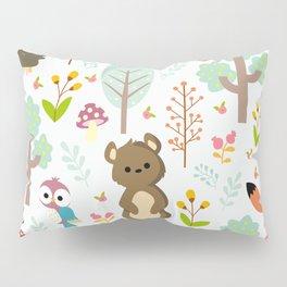 cute forest animals Pillow Sham