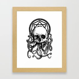 Pieces of Cthulhu Framed Art Print