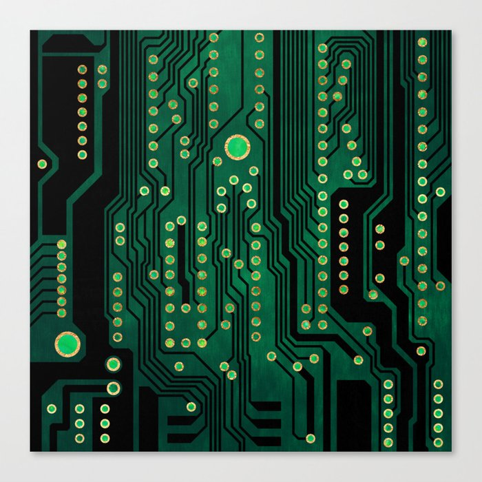 PCB / Version 2 Canvas Print