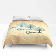Tree Keys Comforters