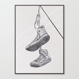 Converse Online Canvas Print