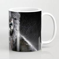 werewolf Mugs featuring Werewolf by Joe Roberts