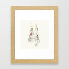 La identidad Framed Art Print